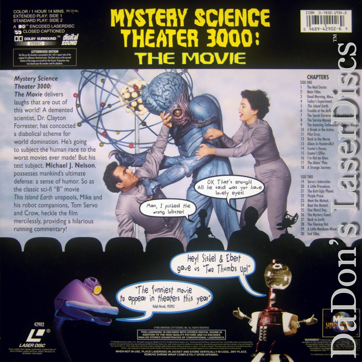 Mystery science 3000 the movie