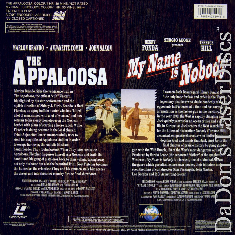 the appaloosa my name is nobody laserdisc rare laserdiscs encore