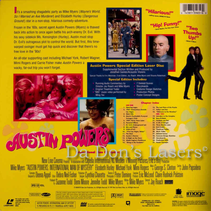 austin powers international man of mystery as a masterpiece of comedy Mike myers and elizabeth hurley in austin powers: international man of mystery but it's become easy to forget what a comedy force austin powers abounds.
