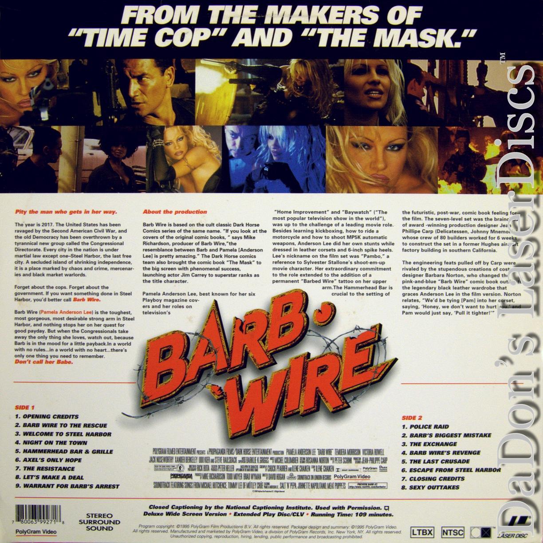 Barb Wire LaserDisc, Rare LaserDiscs, Widescreen Editions