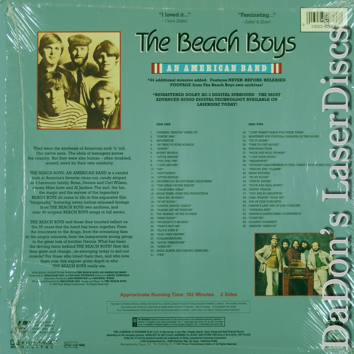 """a biography of the band the beach boys While the passage of time has diminished the irony, the juxtaposition of the beach boys, america's cleancut """"fun"""" band and charles manson, the symbolic epitome."""