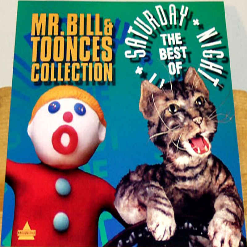 The Mr  Bill and Toonces Collection SNL LaserDisc Comedy TV Show