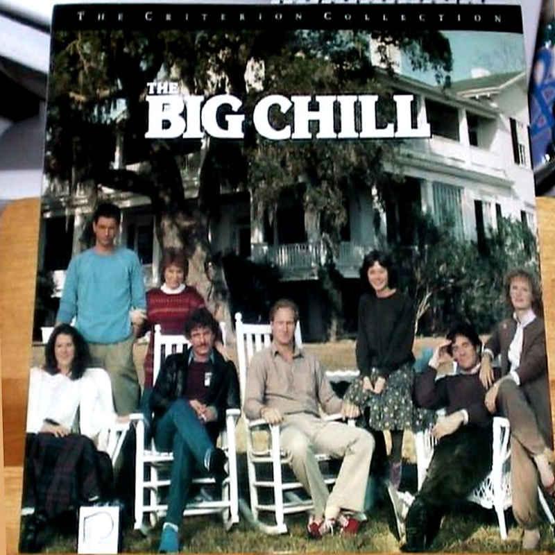 The Big Chill LaserDisc, Rare LaserDiscs, Criterion LaserDiscs