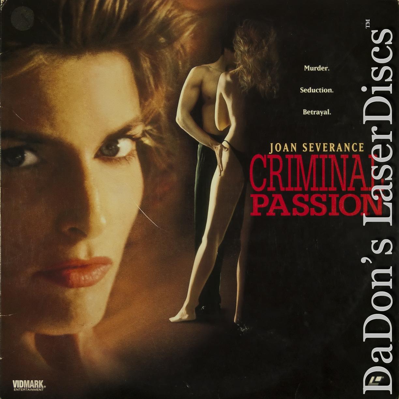 Joan Severance Sex Movies criminal passion laserdisc, rare laserdiscs, not-on-dvd