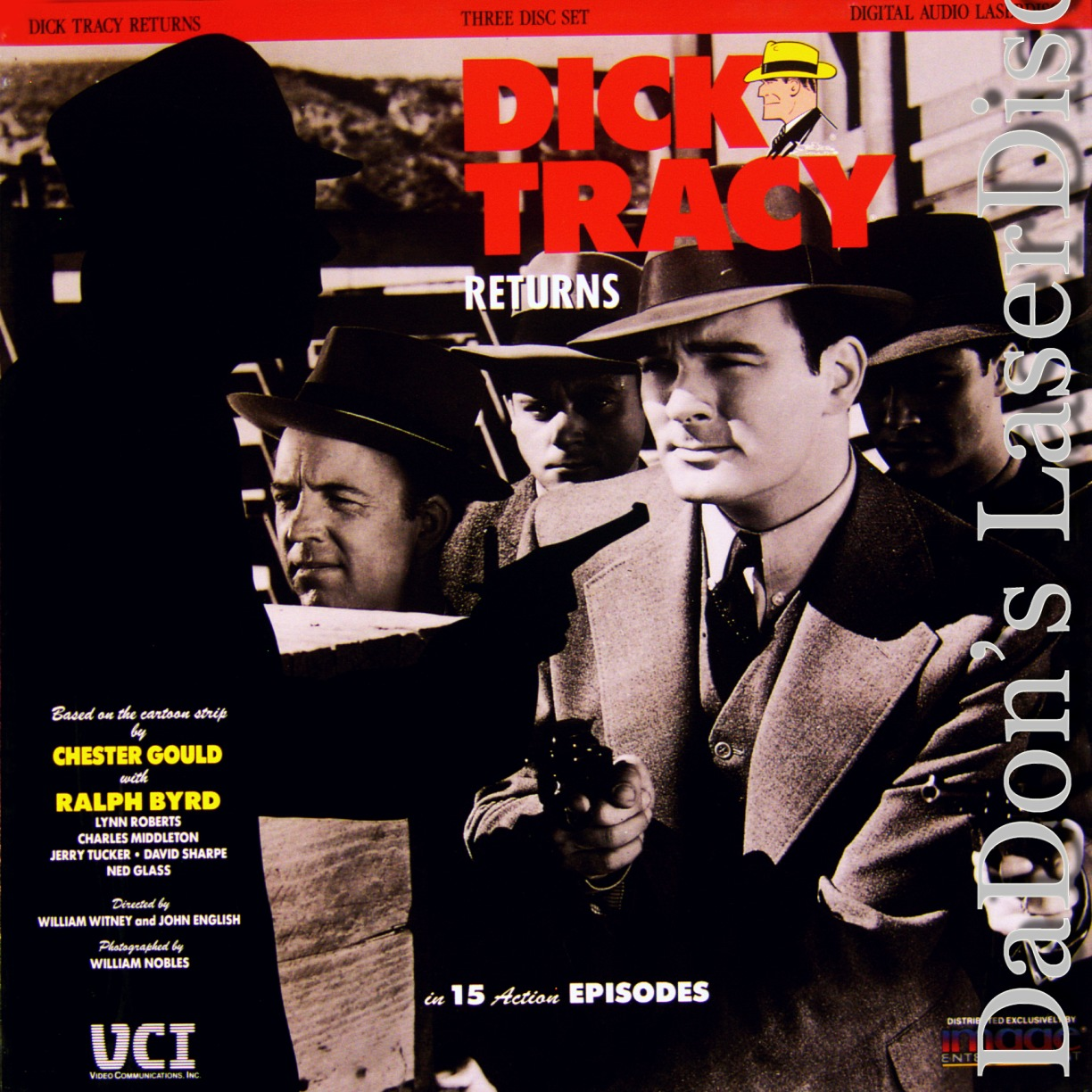 returns Dick tracy