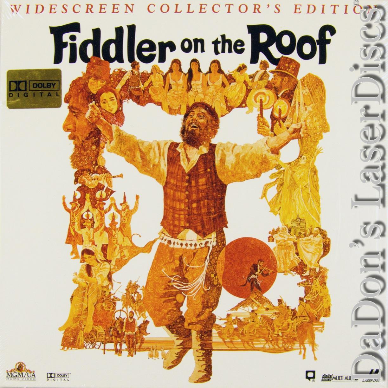 Fiddler On The Roof Laserdisc Rare Laserdiscs Boxsets