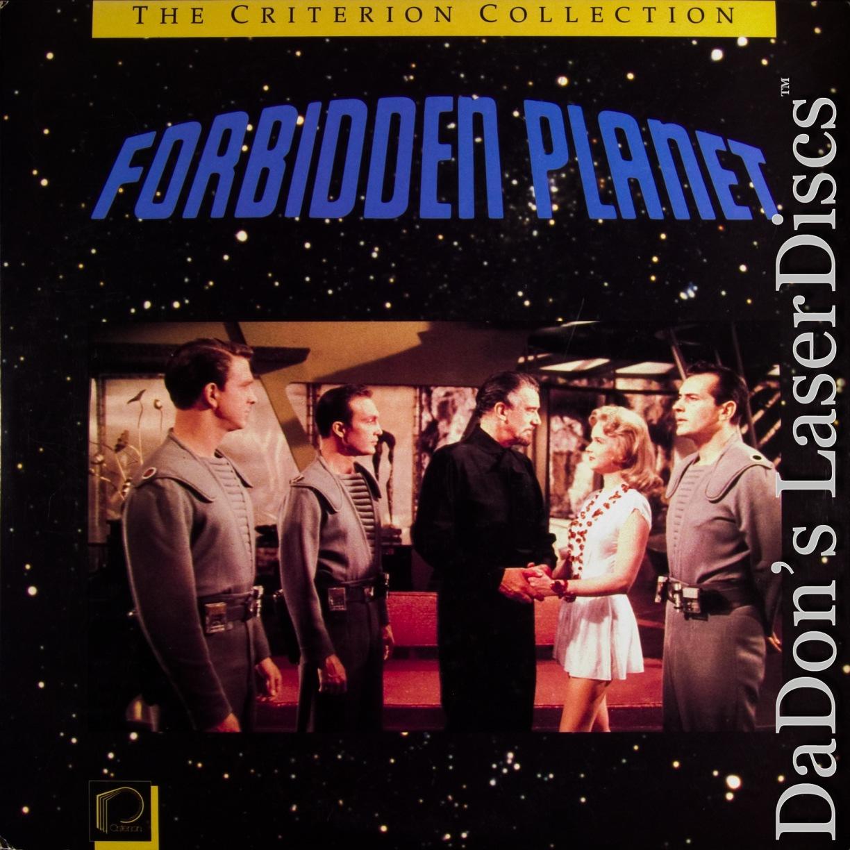 Forbidden Planet Widescreen CAV Criterion #53 Rare LaserDisc Sci-Fi