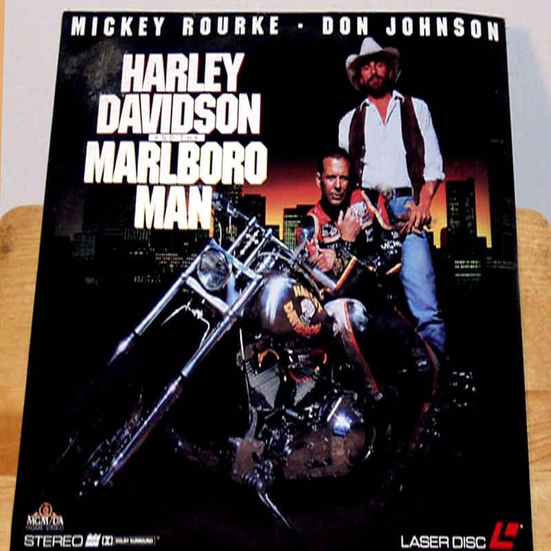Harley Davidson And The Marlboro Laserdisc Rare Laserdiscs Other