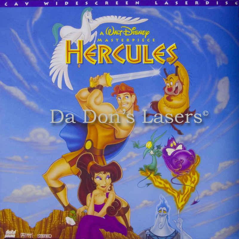 Hercules laserdisc rare laserdiscs disney pictures - Hercule walt disney ...