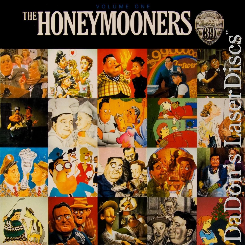 The Honeymooners Volume One LaserDisc, Rare LaserDiscs ...