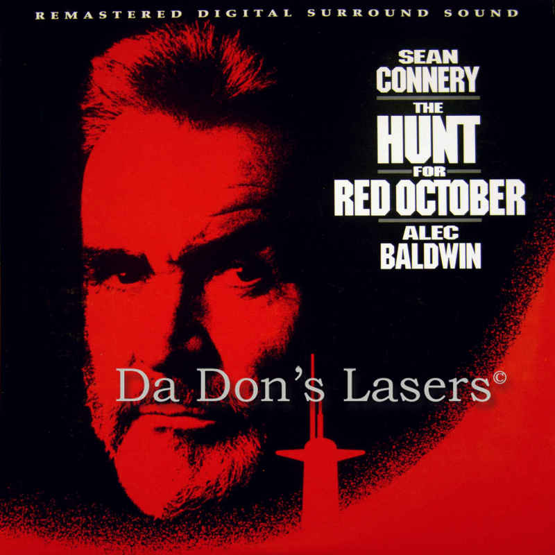 The Hunt for Red October AC-3 THX WS Remastered Rare LaserDisc Action