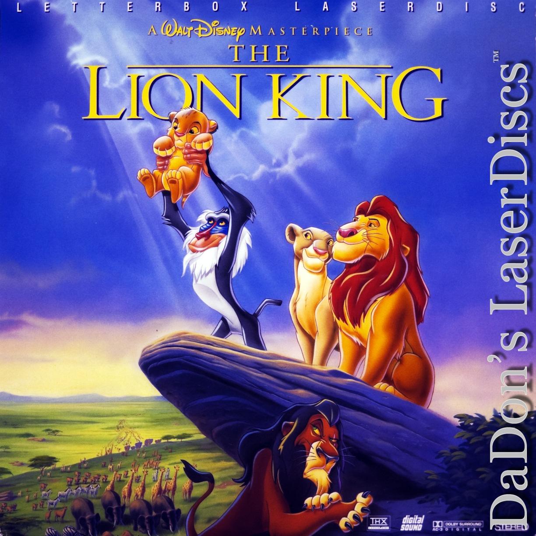 the lion king laserdisc  rare laserdiscs  ac