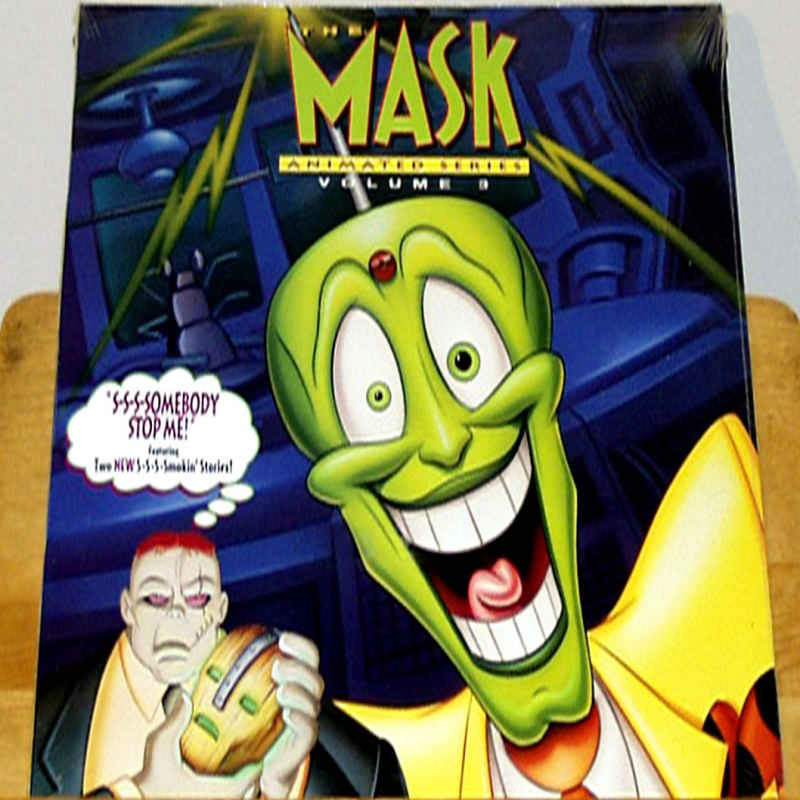 mask the animated series 3 laserdisc rare laserdiscs full screen
