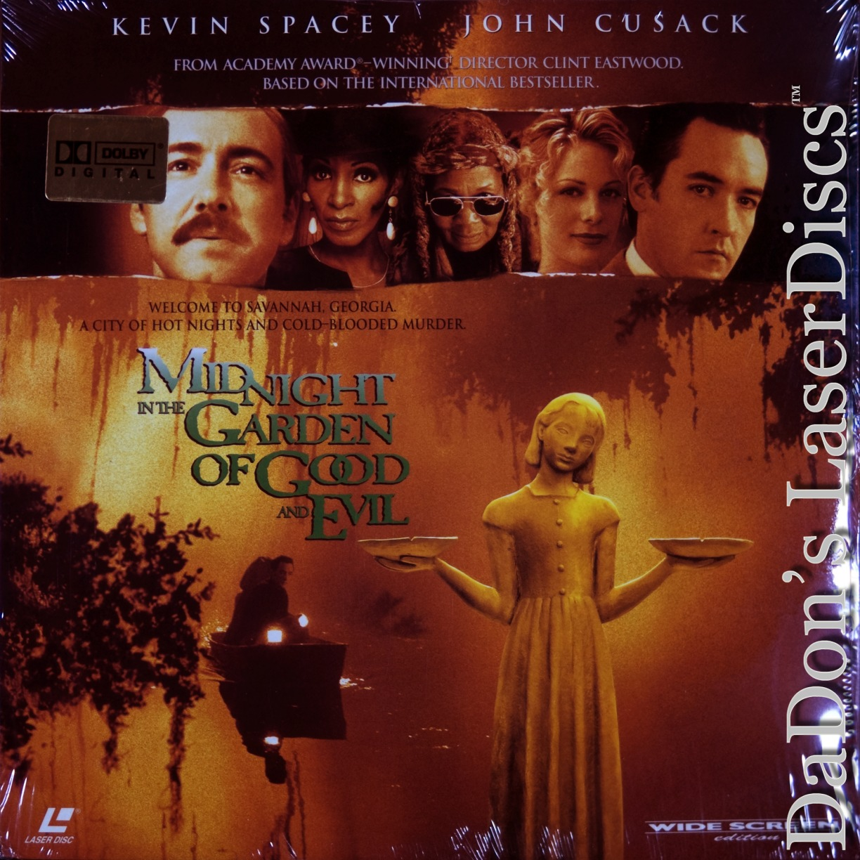 Midnight In The Garden Of Good And Laserdisc Rare Laserdiscs Ac 3 Dolby Digital