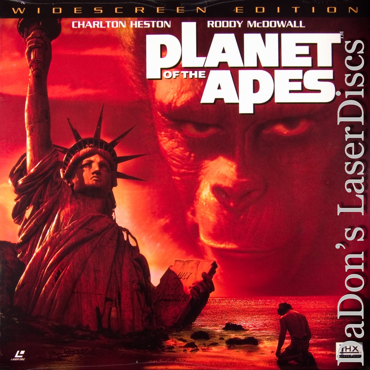 Planet of the Apes AC-3 THX WS Rare Remastered LaserDisc Sci-Fi