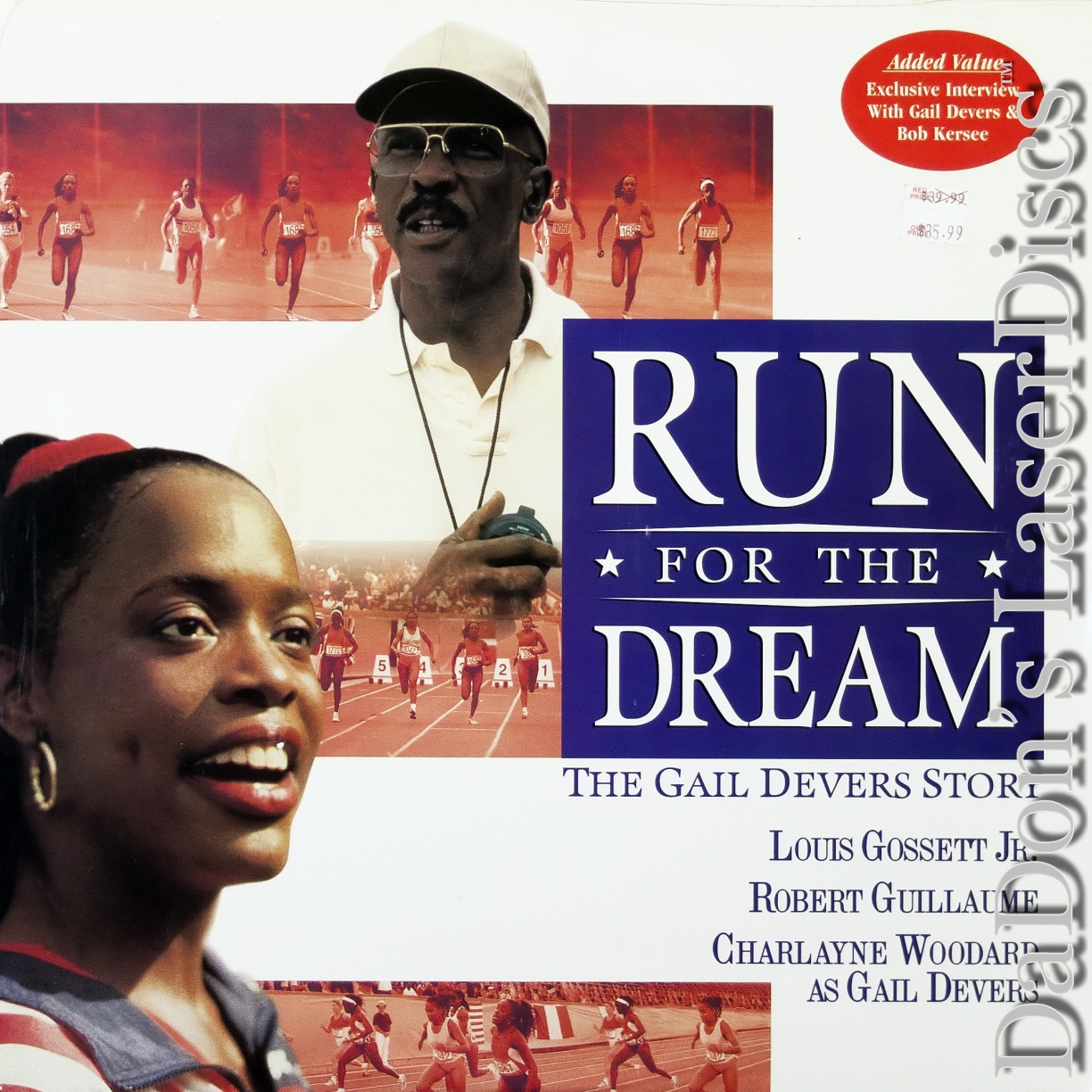 Run For the Dream The Gail Devers LaserDisc, Rare LaserDiscs ...