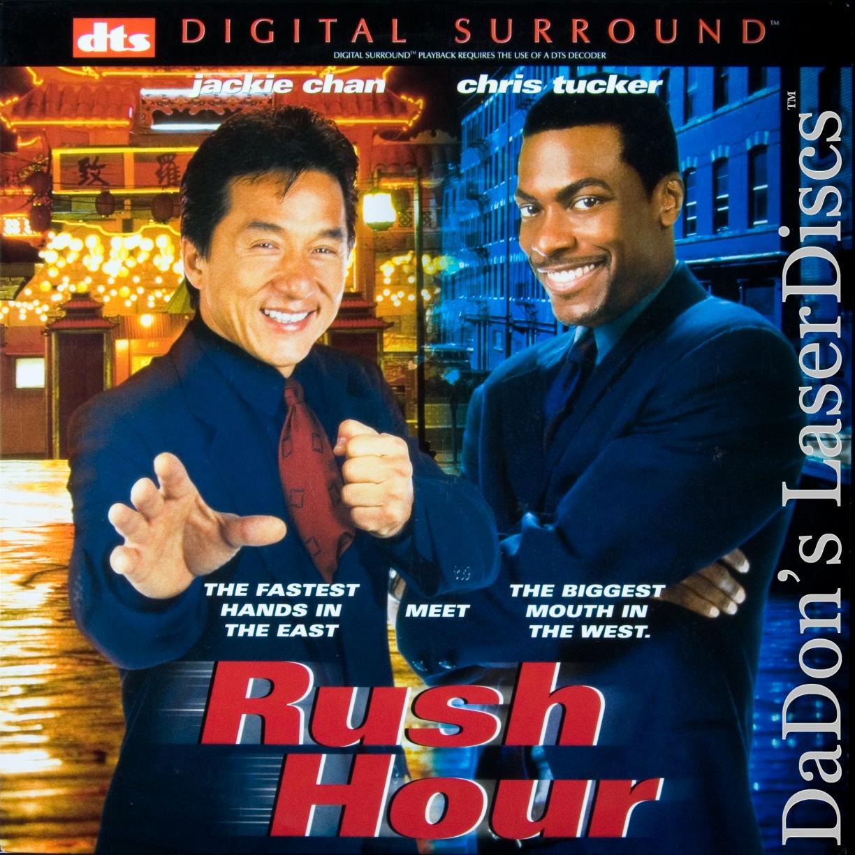 Rush Hour Dts Ws Laserdisc Rare New Ld Chan Tucker Action