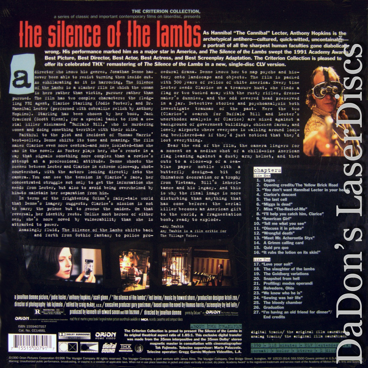 a critical analysis of silence of the lambs Immediately download the the silence of the lambs summary, chapter-by-chapter analysis, book notes, essays, quotes, character descriptions, lesson plans, and more - everything you need for studying or teaching the silence of the lambs.