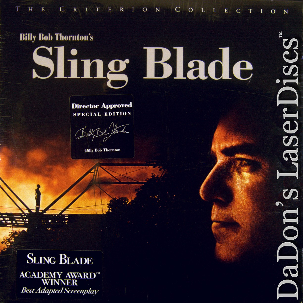 the redemption of a childhood in sling blade by billy bob thornton