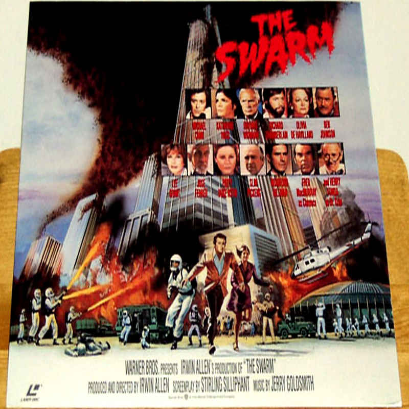The Swarm 1978 Poster