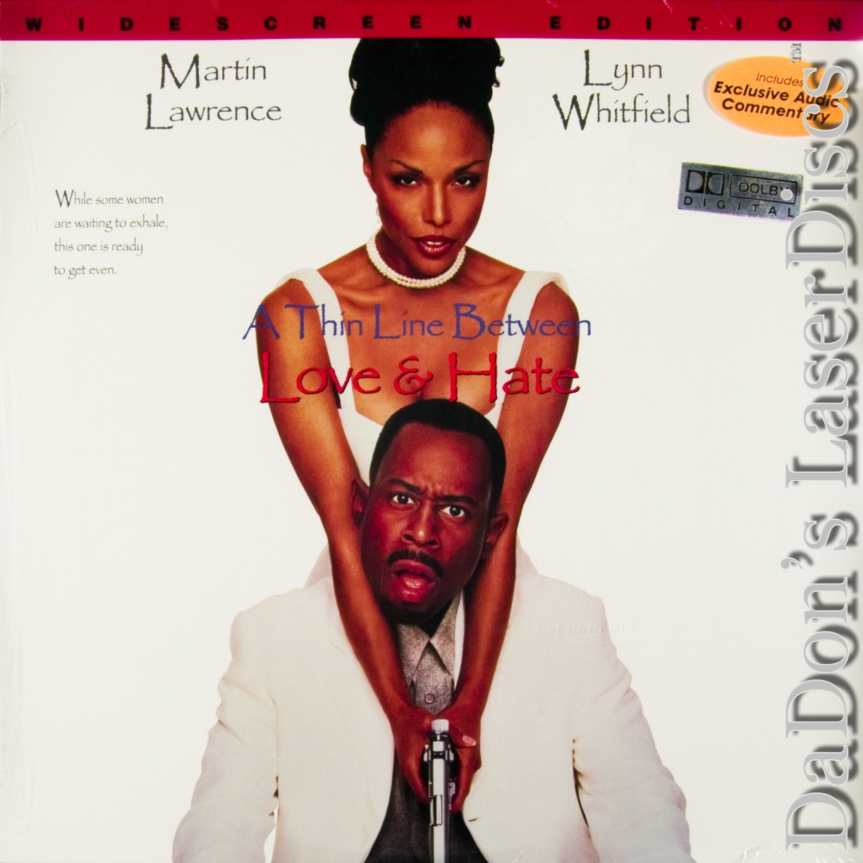 A Thin Line Between Love Hate Laserdisc Rare Laserdiscs Ac 3