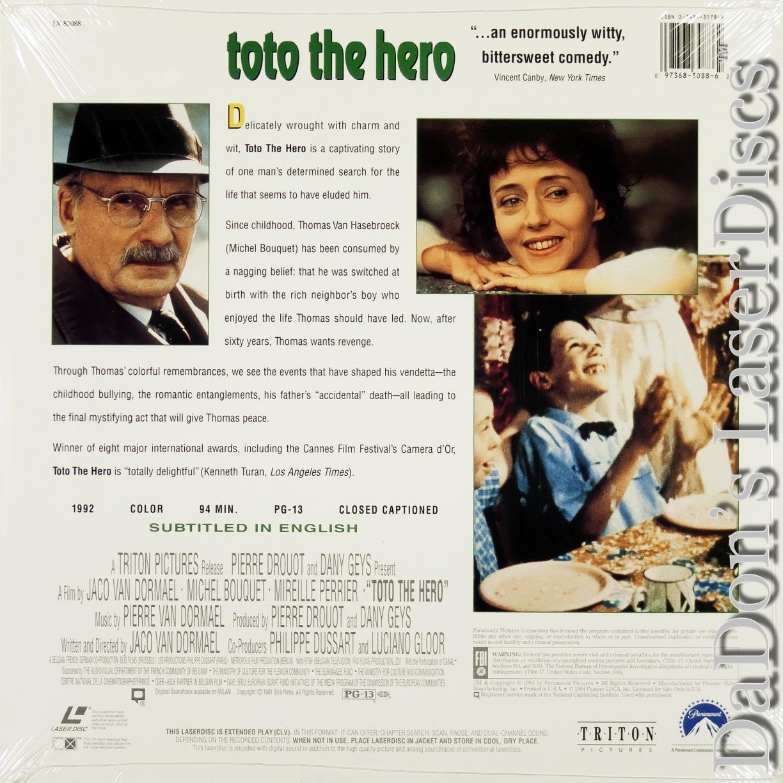 Toto the Hero LaserDisc, Rare LaserDiscs, Rare LaserDiscs