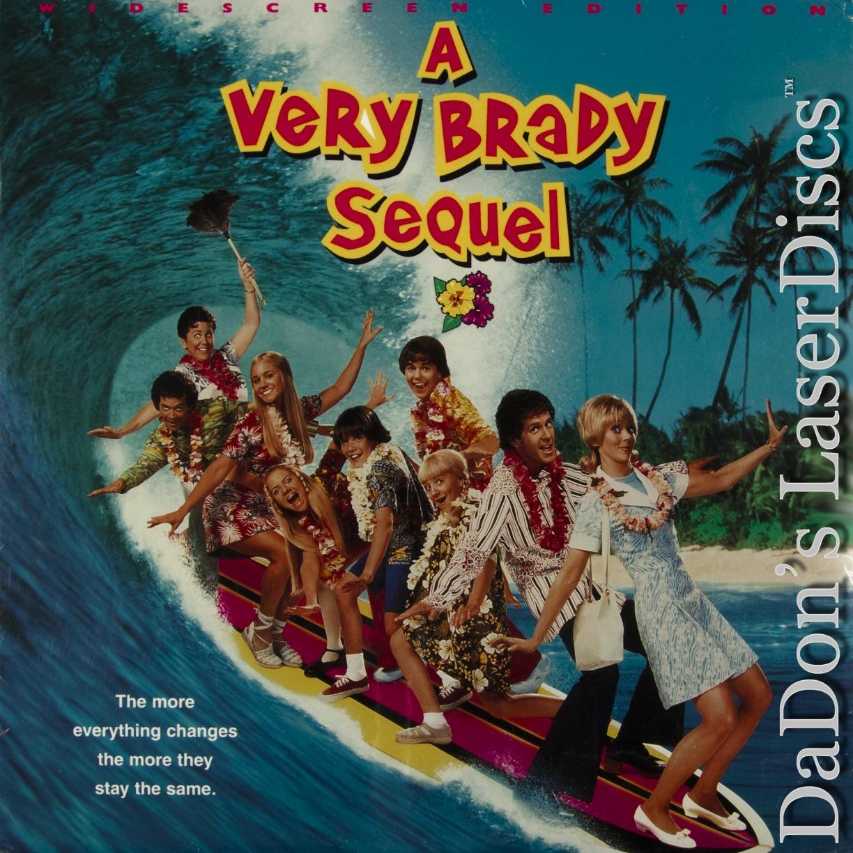 A Very Brady Sequel AC 3 WS Rare LD Long Cole Comedy