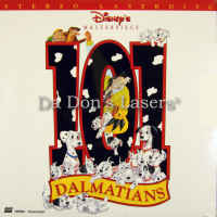 101 Dalmatians LaserDisc Rare NEW Disney Animated