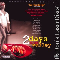 2 Days in the Valley AC-3 WS Rare LaserDisc Hatcher Aiello Thriller *CLEARANCE*