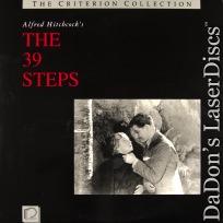The 39 Steps Criterion #3 Rare NEW LaserDisc Hitchcock Carroll