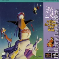 Opus n\' Bill A Wish for Wings that Work Rare LaserDisc Alaskey Animation