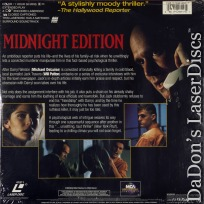 Midnight Edition Dolby Surround Rare NEW LaserDisc Patton Wren Thriller