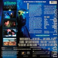 The Abyss THX RM WS AC-3 LaserDisc Rare Extended LD Adventure