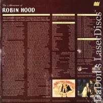 The Adventures of Robin Hood Criterion #66A NEW Rare LaserDisc Adventure