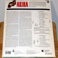Akira DSS CAV Widescreen Criterion #151 Rare LD Anime