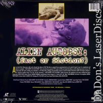 Alien Autopsy Fact or Fiction? NEW Rare LaserDisc Frakes Sci-Fi Documentary