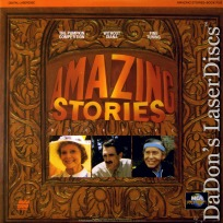 Amazing Stories Book 5 Rare TV LaserDisc Spielberg Sci-Fi