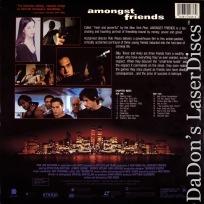 Amongst Friends WS Rare LaserDisc Parlavecchio Gangster Drama