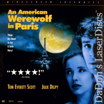 An American Werewolf in Paris AC-3 WS NEW LaserDisc Horror