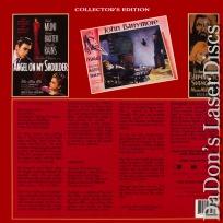Angel On My Shoulder / Svengali Roan LaserDiscs Double Feature Drama