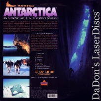 Antarctica IMAX Dolby Surround CAV LaserDisc A Different Nature Documentary