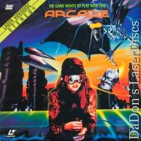 Arcade Rare LaserDisc Full Moon Cult LD Green DeLancie Sci-Fi