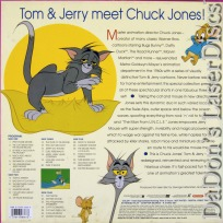 The Art of Tom & Jerry Vol 3 Rare Box Cartoon LaserDisc