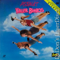 Assault of The Killer Bimbos Rare Shadow Cult LaserDisc Go-go dancers Comedy *CLEARANCE*