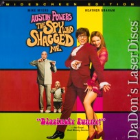 Austin Powers The Spy Who Shagged Me AC-3 EX WS Rare LaserDisc Comedy