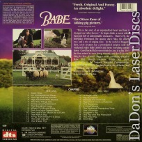 Babe DTS WS Rare LaserDiscs Cromwell Family