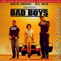 Bad Boys DSS WS NEW Rare LaserDisc Lawrence Smith Leoni Action