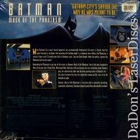 Batman Mask of the Phantasm WS Rare LaserDiscs
