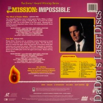 Best of Mission Impossible V5 Mind of Stefan Miklos LaserDisc Spy