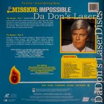 Best of Mission Impossible V6 Bunker 1 & 2 LaserDisc Spy